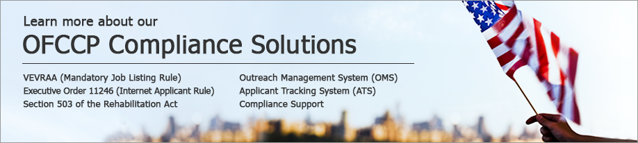 Learn more about our OFCCP Compliance Solutions